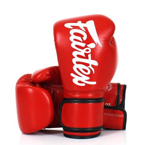 GĂNG TAY FAIRTEX BGV14 MICROFIBER LEATHER BOXING GLOVES - RED