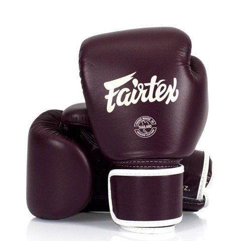 GĂNG TAY FAIRTEX BGV16 MAROON BOXING GLOVES
