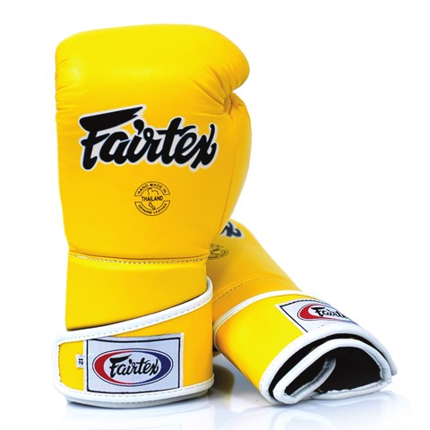 GĂNG TAY FAIRTEX BGV6 STYLISH ANGULAR SPARRING GLOVES - YELLOW