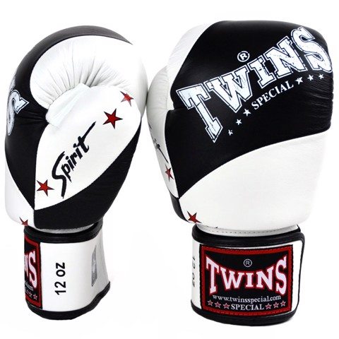 Găng Tay Twins Bgvl-10 Spirit Velcro Gloves - Black/White