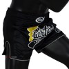 QUẦN FAIRTEX BS1708 BLACK SLIM CUT MUAY SHORT