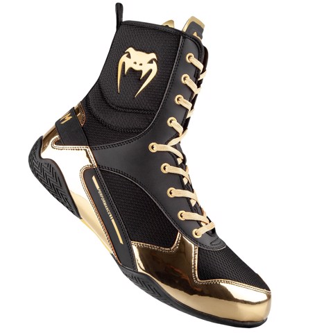 GIÀY VENUM ELITE BOXING SHOES - BLACK/GOLD