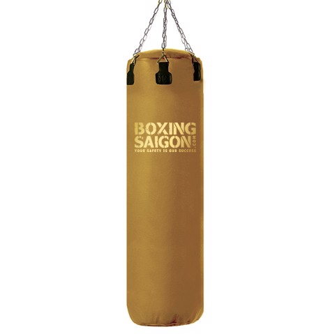 Bao Cát Treo Boxing Punching Bag 1M2 - Vintage Gold Version