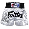 QUẦN FAIRTEX SUPERSTITION MUAY THAI SHORT - WHITE