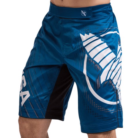 QUẦN HAYABUSA CHIKARA 4 FIGHT SHORT - BLUE