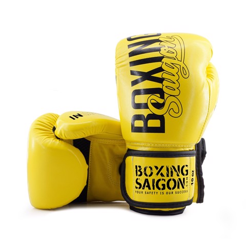 Găng Tay Boxing Saigon Inspire - Yellow