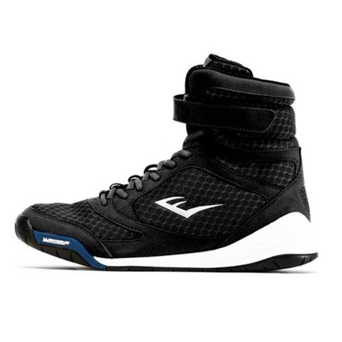 GIÀY EVERLAST ELITE HIGH TOP BOXING SHOES - BLACK