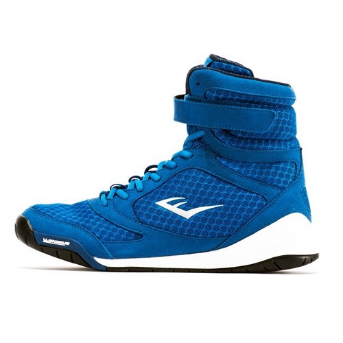 Giày Everlast Elite High Top Boxing Shoes - Blue