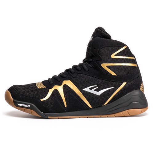 GIÀY EVERLAST PIVT LOW TOP BOXING SHOES - BLACK/GOLD