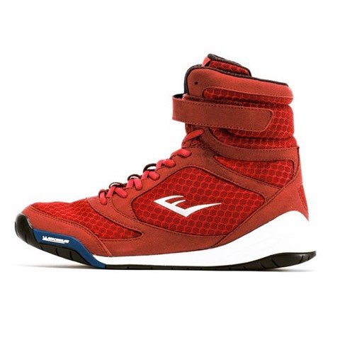 Giày Everlast Elite High Top Boxing Shoes - Red