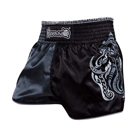 Quần Hayabusa Elephant Muay Thai Short - Black/Grey