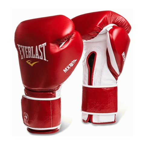GĂNG TAY EVERLAST MX HOOK & LOOP TRAINING GLOVES - RED