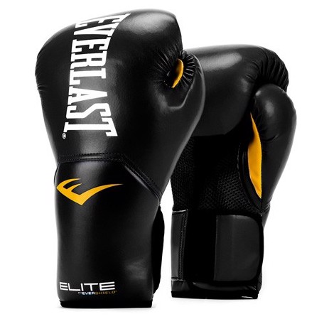 Găng Tay Everlast Elite Prostyle Training Gloves - Black
