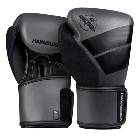 GĂNG TAY TRẺ EM HAYABSUA S4 KIDS BOXING GLOVES - CHARCOAL