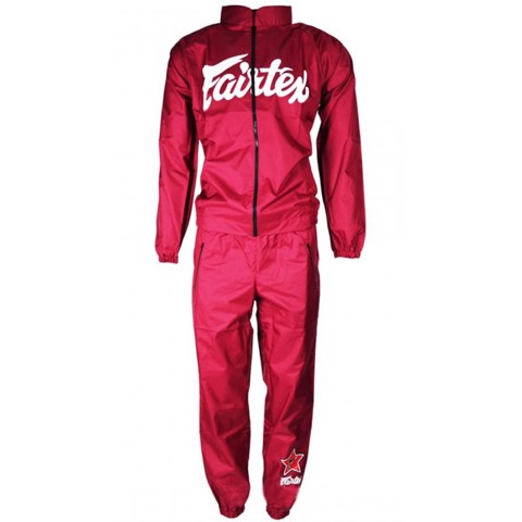 ĐỒ ÉP CÂN FAIRTEX VS2 VINYL SWEAT SUIT - MAROON