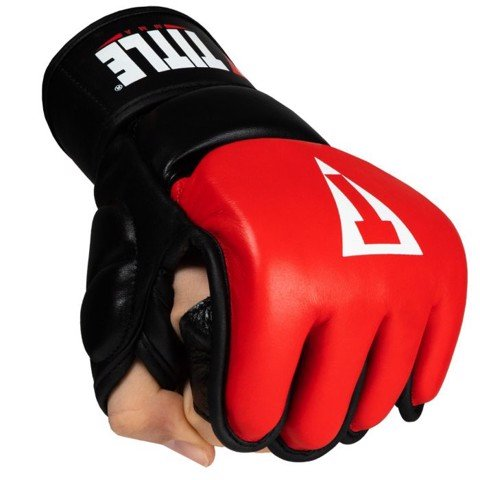 Găng Tay Title Mma Pro Training Gloves - Red