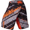 QUẦN MMA VENUM PIXEL FIGHT SHORTS - BLACK/ORANGE