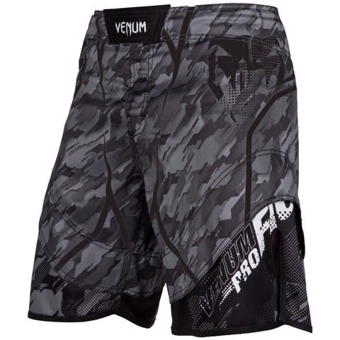 QUẦN MMA VENUM TECMO FIGHT SHORTS - DARK GREY