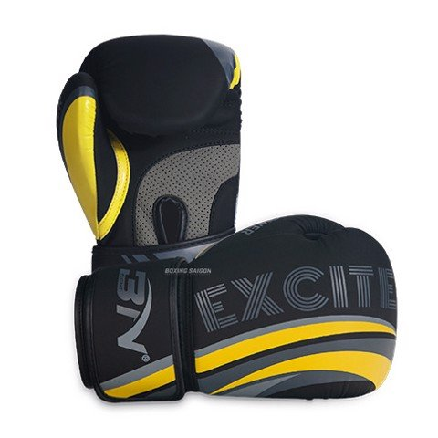 Găng Tay Bn Excite Boxing Gloves - Black