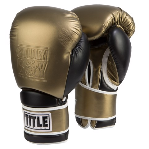 Găng Tay Title Golden Boy Training Gloves