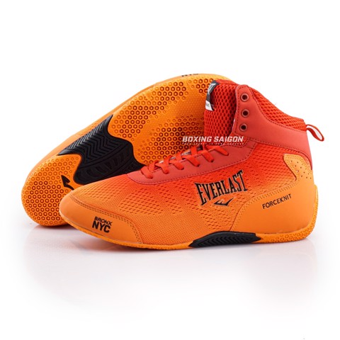 GIÀY EVERLAST FORCEKNIT BOXING SHOES - ORANGE ( HÀNG XUẤT DƯ )