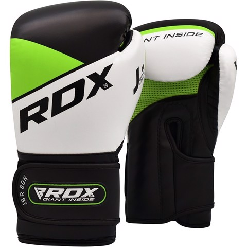 GĂNG TAY RDX JBR8 KIDS BOXING GLOVES - GREEN