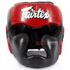 Bảo Hộ Đầu Fairtex Hg13 Full Coverage Head Gear Lace-Up - Black/Red