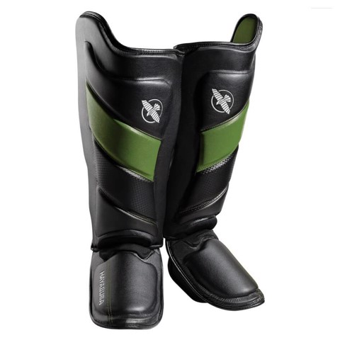 Bảo Hộ Chân Hayabusa T3 Striking Shin Guards - Black/Green