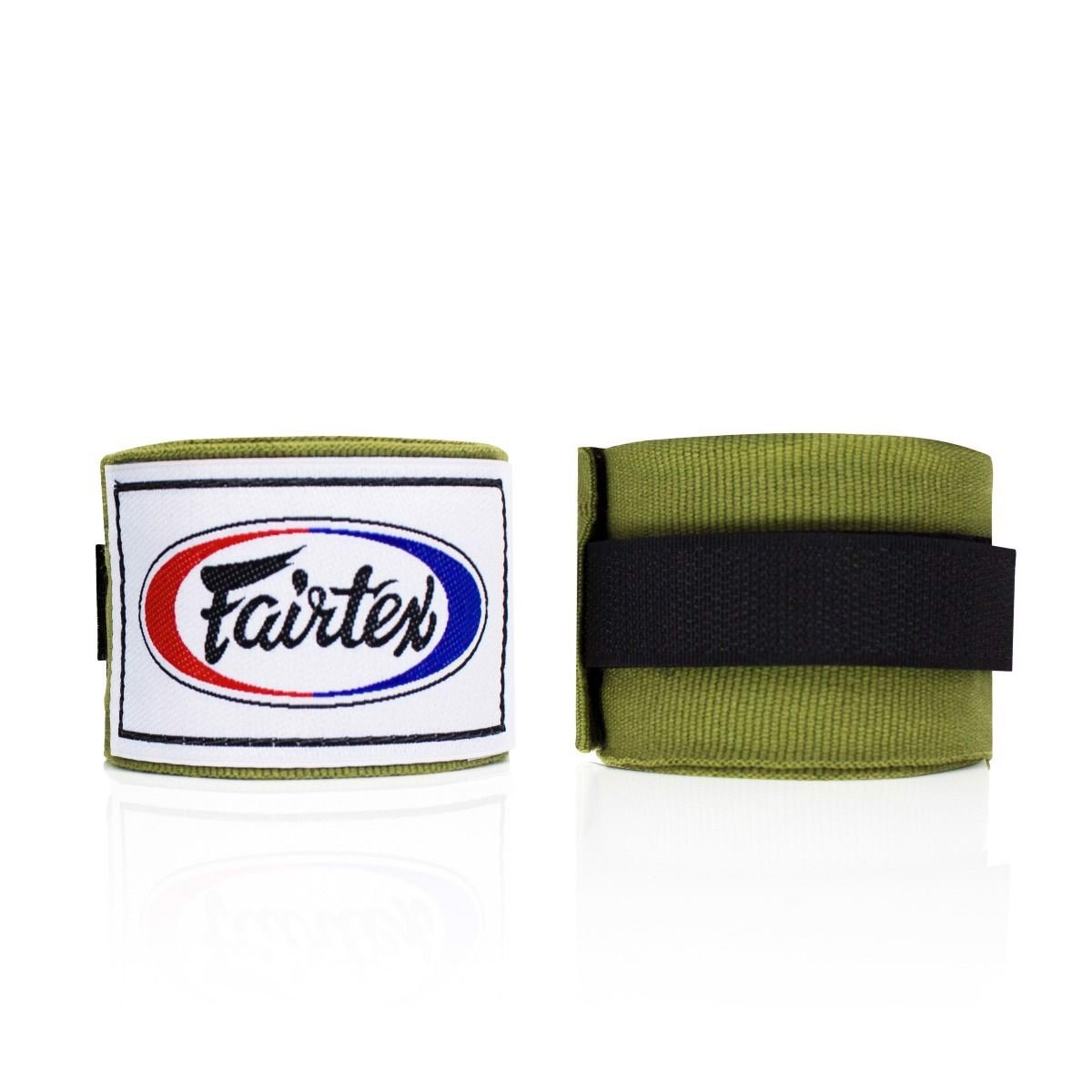 Băng Quấn Tay Fairtex Hw2 Stretch Wraps - Olive