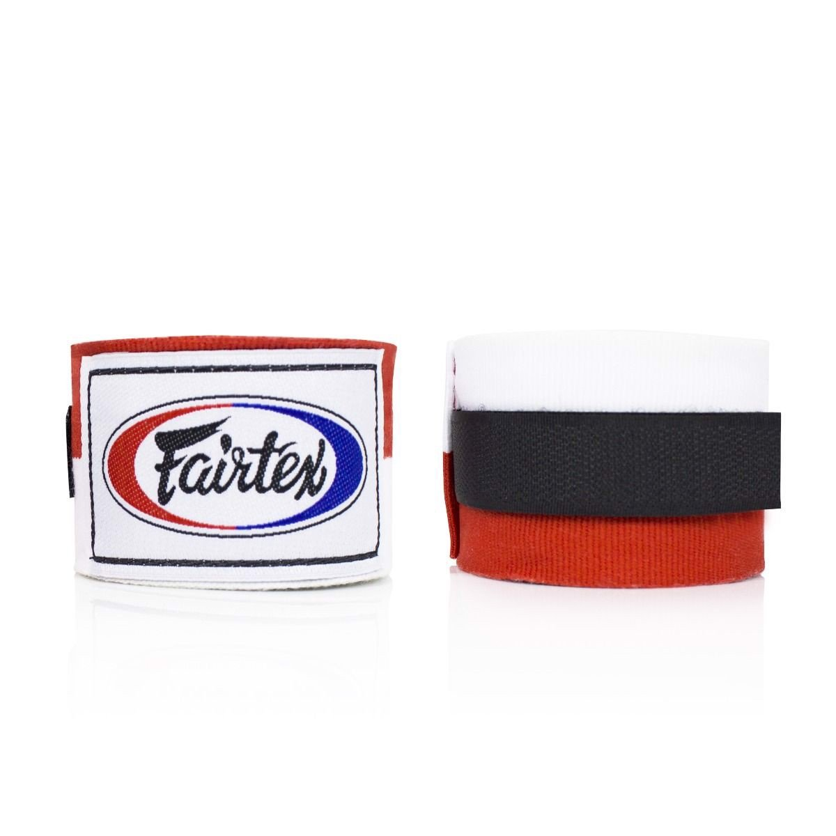 Băng Quấn Tay Fairtex Hw2 Stretch Wraps - Red/White