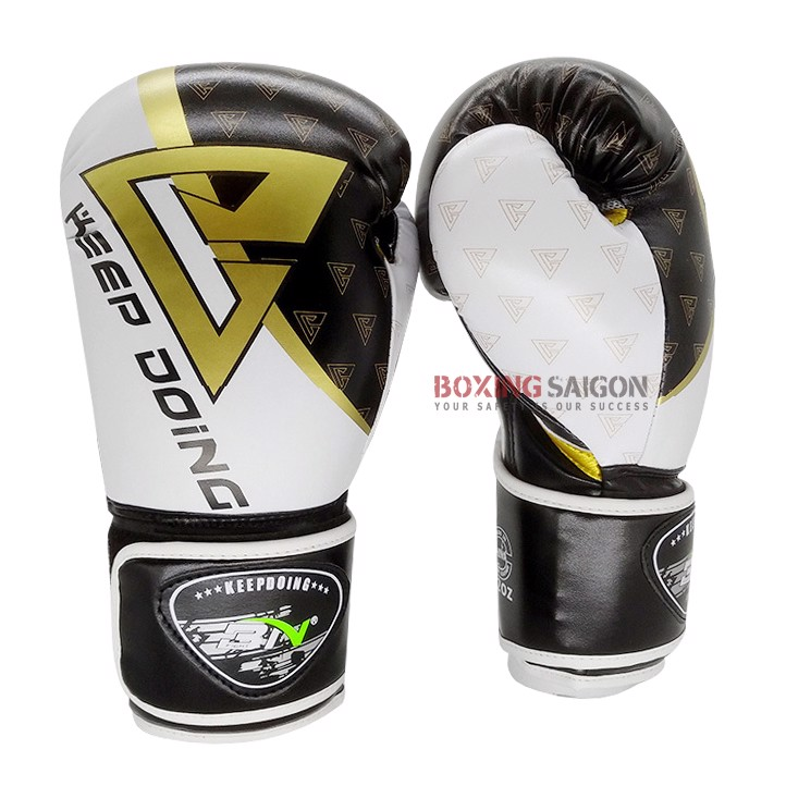 GĂNG TAY BN 2019 BOXING GLOVES - BLACK/WHITE