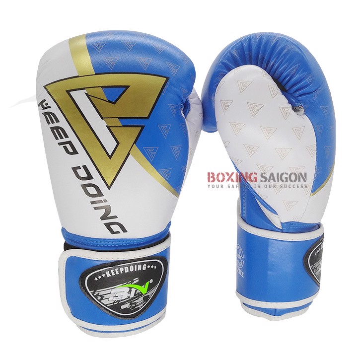 GĂNG TAY BN 2019 BOXING GLOVES - BLUE