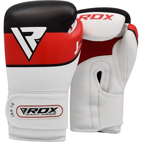 GĂNG TAY RDX JBR7 6OZ KIDS BOXING GLOVES - RED