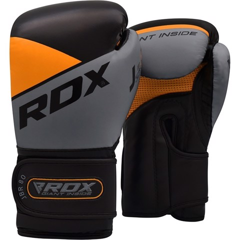 GĂNG TAY RDX JBR8 KIDS BOXING GLOVES - ORANGE