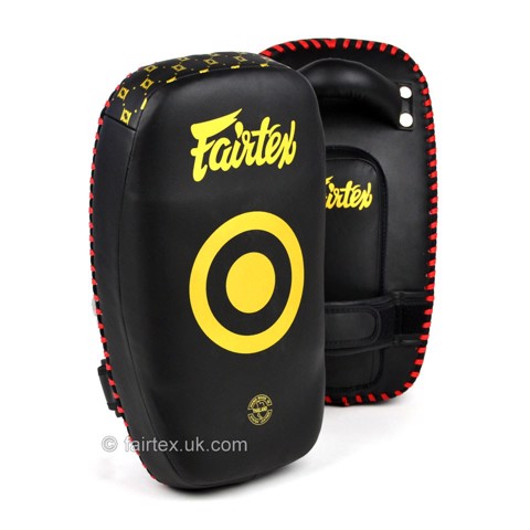 ĐÍCH ĐÁ FAIRTEX KPLC6 SMALL LIGHT WEIGHT THAI KICK PADS