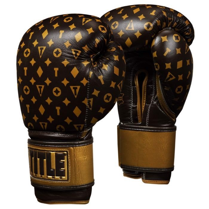 GĂNG TAY TITLE AFFLUENT LEATHER BAG GLOVES - BROWN