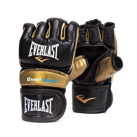 GĂNG TAY EVERLAST EVERSTRIKE TRAINING MMA GLOVES - BLACK/GOLD