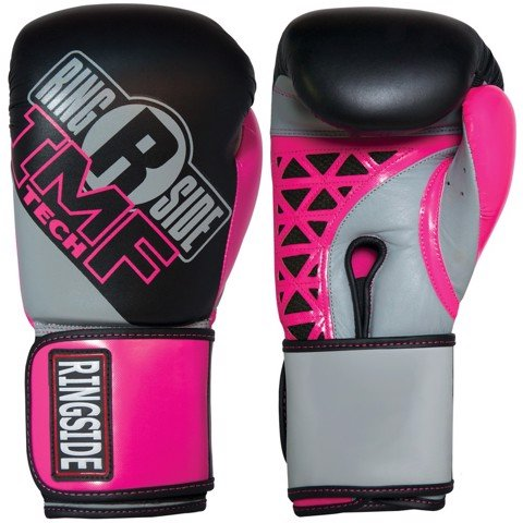 Găng Tay Ringside Women'S Cut Imf Tech™ Sparring Gloves - Black/Pink/Grey
