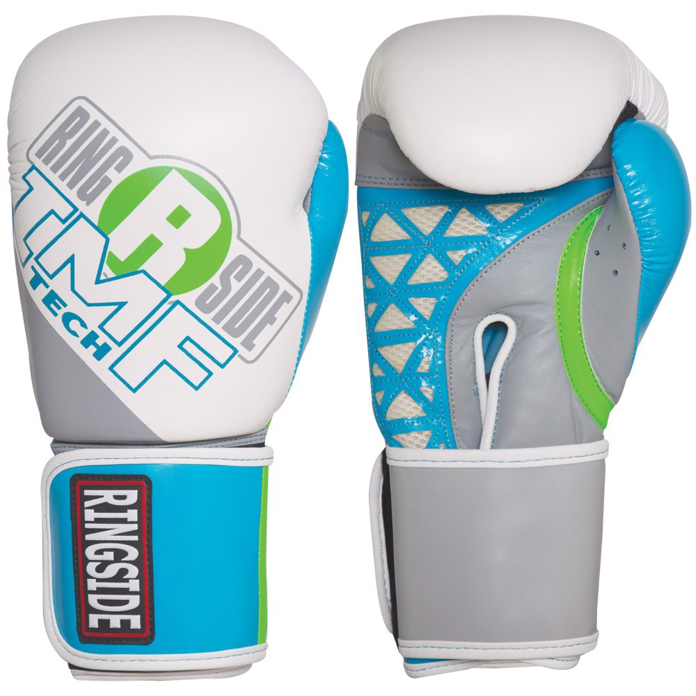 Găng Tay Ringside Women'S Cut Imf Tech™ Sparring Gloves - White/Blue/Grey