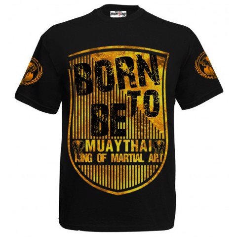 ÁO BORN TO BE MUAY THAI T-SHIRT MT-8044
