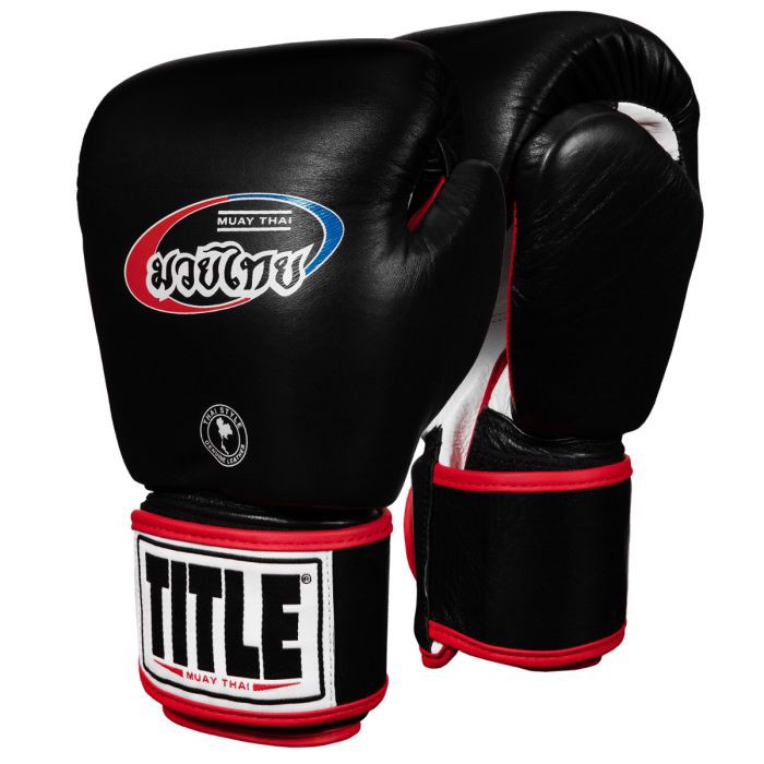 Găng Tay Title Muay Thai Leather Training Gloves