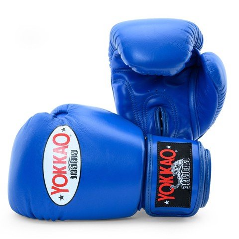Găng Tay Yokkao Bygl-X Matrix Blue Boxing Gloves