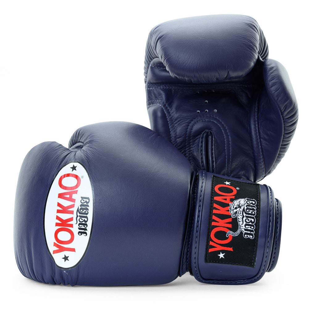 Găng Tay Yokkao Bygl-X-17 Matrix Evening Blue Boxing Gloves
