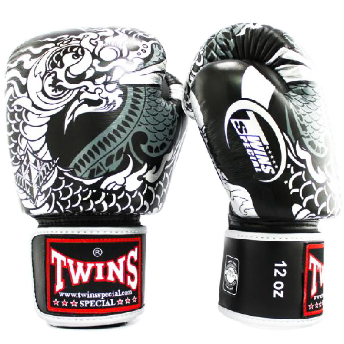 Găng Tay Twins Fbgvl3-52Sv Special Fancy Boxing Gloves Dragon