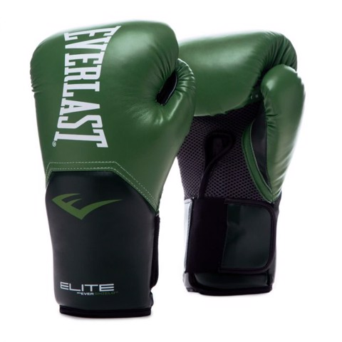 Găng Tay Everlast Elite Prostyle Training Gloves - Olive Green