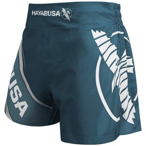 QUẦN HAYABUSA KICKBOXING SHORTS 2.0 - STEAL BLUE