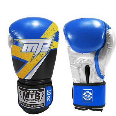 Găng Tay Max Mtb Boxing Gloves - Black/Blue