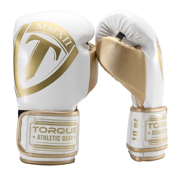 GĂNG TAY TORQUE BOXING GLOVES - WHITE/GOLD