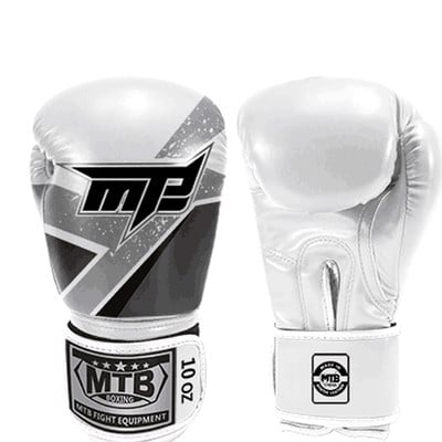 Găng Tay Max Mtb Boxing Gloves - Black/White