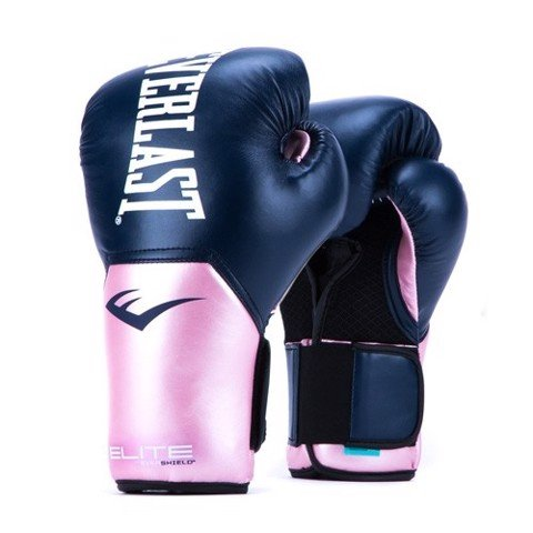GĂNG TAY EVERLAST WOMEN'S ELITE PROSTYLE TRAINING GLOVES - NAVY/PINK